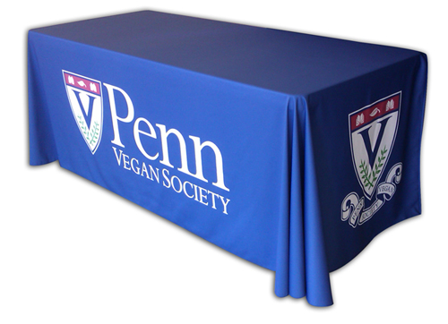 Printed table cover present a professional appearance for Table th row