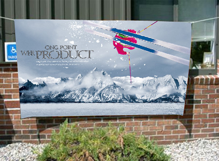 Show Your Brand And Event On Quality Fabric Various Fabrics Are - Vinyl banners australia