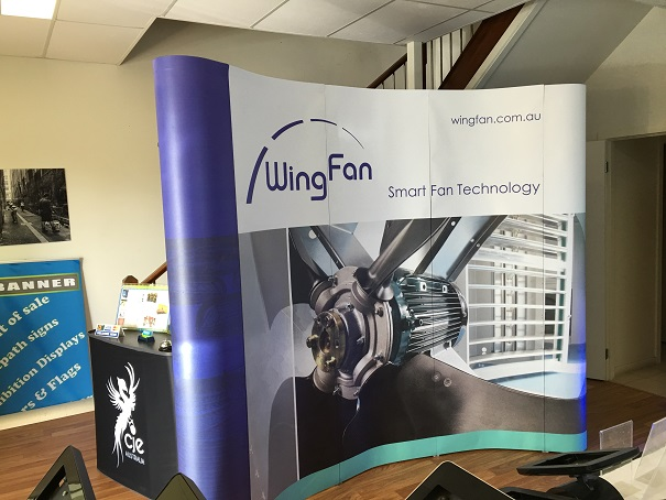 Magnetic Curved PopUP Wall-WingFan01