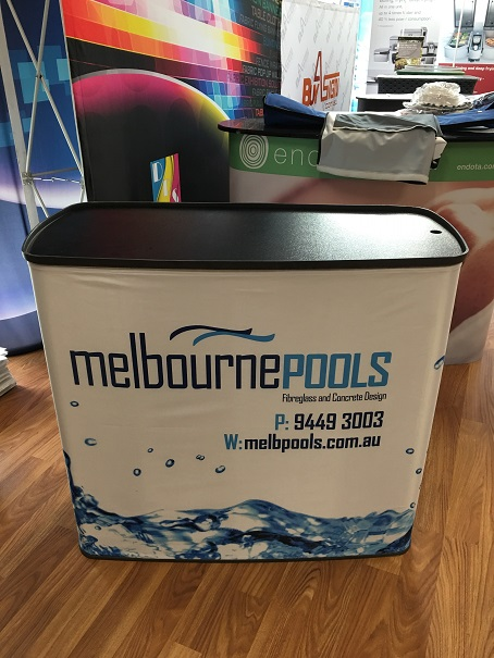 Portrable Promotion Table - Melbourne Pools