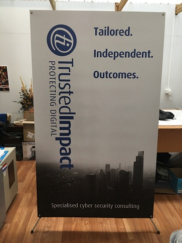 X Banner 1.2x2m TrustedImpact