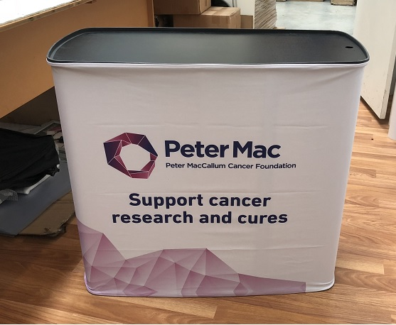 Portable Promotion Table-Peter Mac