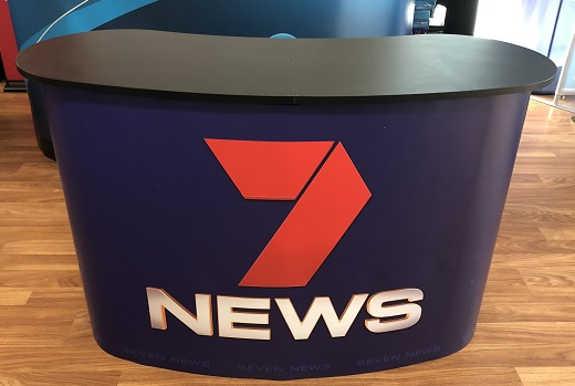 Magnetic Promotion Table - 7 NEWS