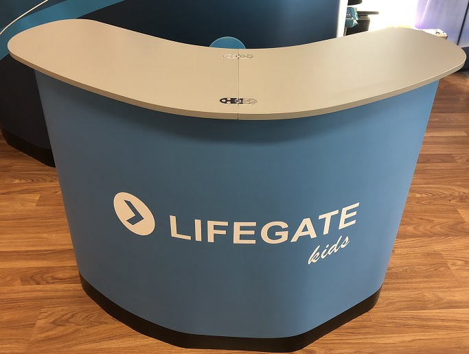 lifegate - silver table top